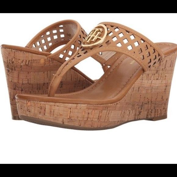 Tommy Hilfiger Shoes - ⚡️Tommy Hilfiger Wedges⚡️